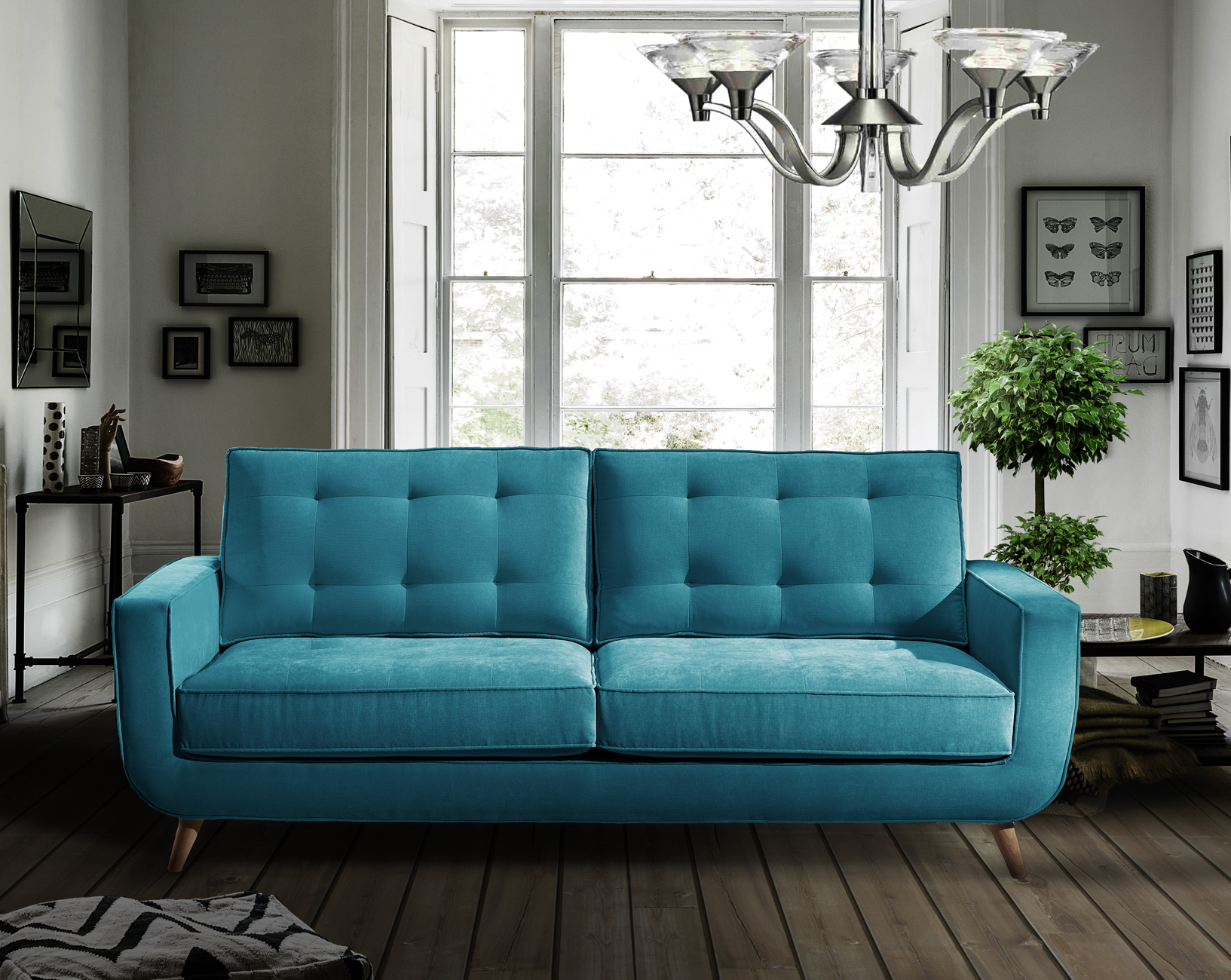 royals retro sofa interiør design